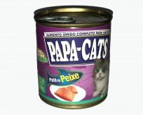 ENLATADO – PATÊ PAPA  CATS